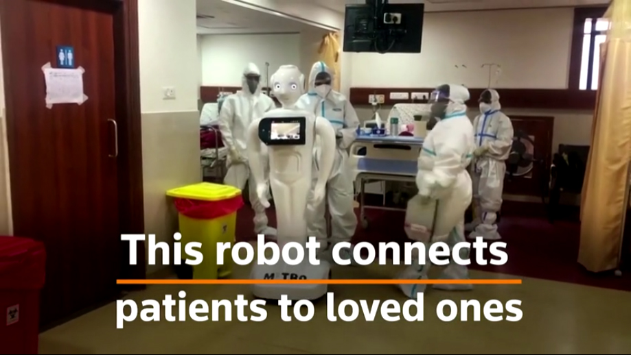 Yatharth deploys Mitra the robot to help COVID patients speak to loved ones
