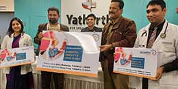 Yatharth Super Specialty Hospitals inaugurated its new Multi specialty clinics